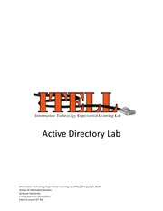 Lab 05 Microsoft Active Directory