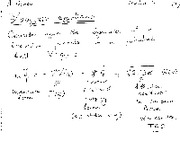 Langevin Equations notes