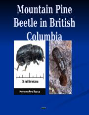 Mountain-Pine-Beetle-in-British-Columbia.pptx