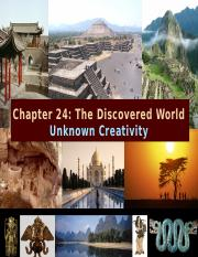 24 The Discovered World