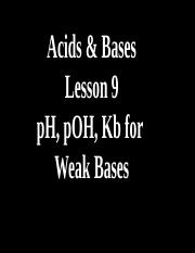 9.-pH-Kb-calculations-of-Weak-Bases-Answers