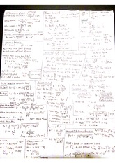 Final and Midterm Cheat Sheet