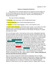 Culture in Comparative Perspective 1
