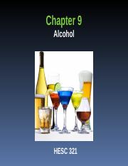 Chapter 9 slides Alcohol