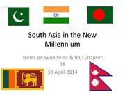 South Asia in the New Millennium