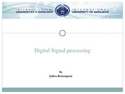 Lecture 1_DIGITAL SIGNAL PROCESSING
