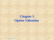 ch05_-_Valuation_of_Options