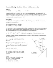 Resolution of Vectors Answers