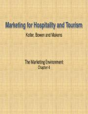 tourism marketing CH4