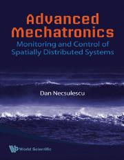 Dan Necsulescu-Advanced Mechatronics_ Monitoring and Control of Spatially Distributed Systems-World