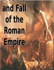 Presentation 2 - The Decline and Fall of the Roman Empire.ppt