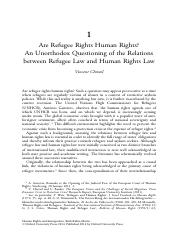 Are_Refugee_Rights_Human_Rights_An_Unorthodox_Questioning_of_the_Relations_between_Refugee_Law_and_H