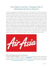 information system of air asia Asias serves as a central conduit for the exchange of safety information among by stakeholders supporting the global air transportation system asias.
