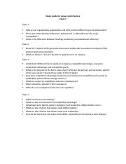 Study Guide - PowerPoint