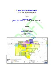 Technical Report Outline TEMPLATE_LAND-USE_DRAFT.doc