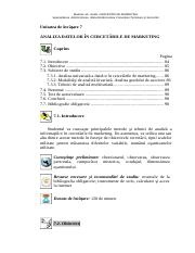 unitatea de studiu 7_ANALIZA DATELOR IN CERCETARILE DE MARKETING.doc