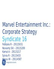 Marvel Case - Syndicate 16
