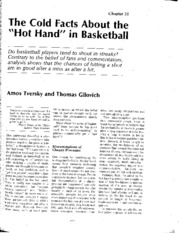 "week2 The cold facts about the ""hot hand"" in basketball"