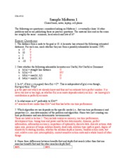 sample midterm 1 key