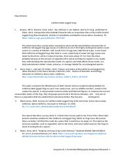 ENVS 100W Assignment #4- Annotated Bibligoraphy non peer reviewed