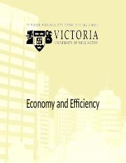 6. Economy & Efficiency(1)