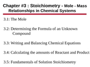 Chapter 3 PPt - Chem I