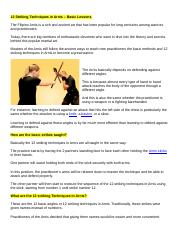 12 Striking Techniques in Arnis.docx