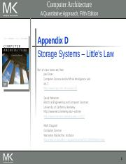 Lecture 19 Storage Systems-Little's Law(1) (1).pptx