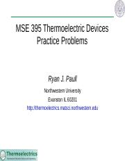 MSE 395 Practice Problems.pptx