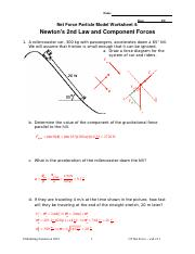 08_U5 ws4 key.doc - Name Date Pd Net Force Particle Model ...