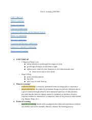 APPsychologyUnit6NOTES