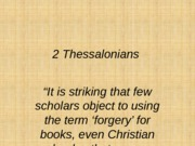 2+Thessalonians