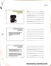 Fire Tech 103 Personal Protective Equipment Notes