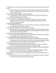 Unit two text questions