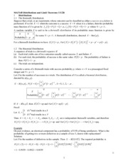4_Distributions and Limit Theorems