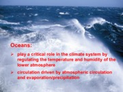 Oceans - Lecture Slides for Final Exam