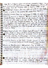 History 101 Class Notes- The Bill of Rights
