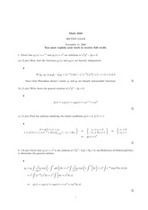 Midterm Exam 2 Solution Fall 2004 on Ordinary Differential Equations