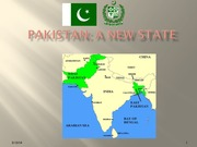 412-Pakistan 1- A New State
