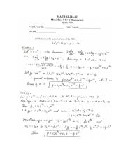 MATH 216 Winter 2008 Midterm 4C Solutions