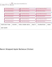 Bacon Wrapped Apple Barbecue Chicken - Moms Who Think.pdf