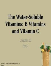 Chapter 10 Part 2 EBE