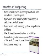 Chapter 21 Budgeting 2014 (1).ppt