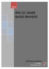 IFRS 2 Shared Based