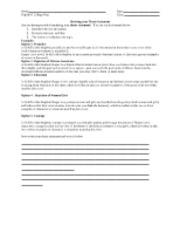 webquest thesis