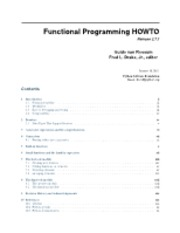 Functional Programming- How To