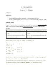 HomeworkAssignemnt5_ FA16_Solutions