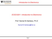 Electronics Lecture 5
