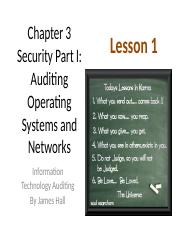 Chap03 Security I Auditing OS & Networks - MWF 1 Auditing OS.pptx