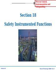 Section-18 Safety Instrumented Functions.ppt